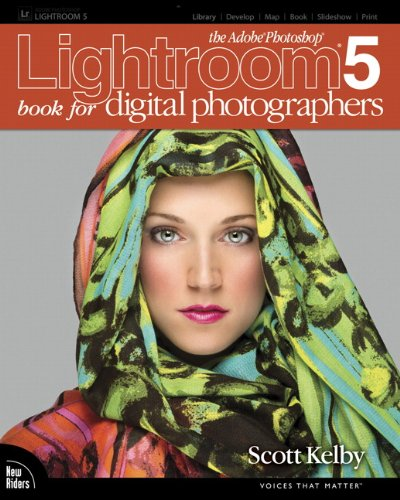 Adobe Photoshop Lightroom 5 Book for Digital Photographers  2014 edition cover