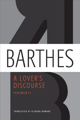 Lover's Discourse Fragments N/A edition cover