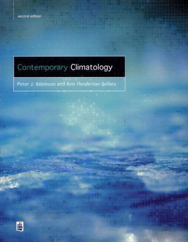 Contemporary Climatology  2nd 1999 (Revised) edition cover