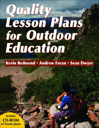 Quality Lesson Plans for Outdoor Education   2010 9780736071314 Front Cover