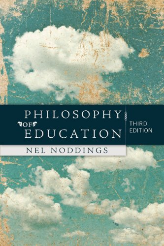 Philosophy of Education  3rd 2011 edition cover