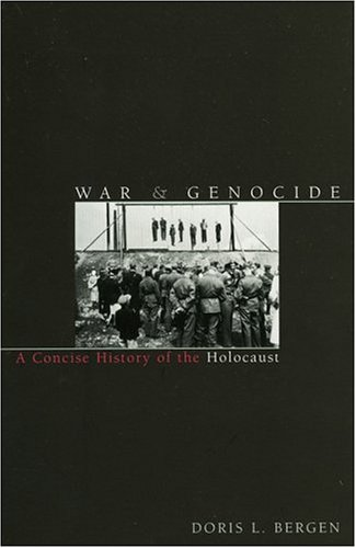War and Genocide A Concise History of the Holocaust  2002 edition cover