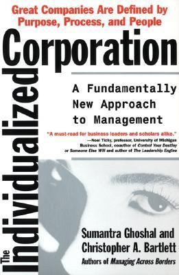 Individualized Corporation A Fundamentally New Approach to Management N/A 9780887308314 Front Cover