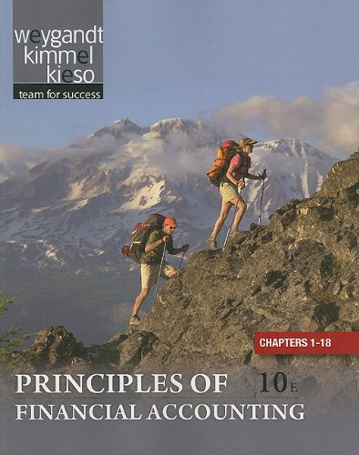 Principles of Financial Accounting, Chapters 1-18  10th 2011 9781118009314 Front Cover