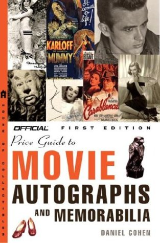 Official Price Guide to Movie Autographs and Memorabilia  Large Type 9781400047314 Front Cover