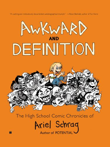 Awkward and Definition The High School Comic Chronicles of Ariel Schrag  2008 edition cover