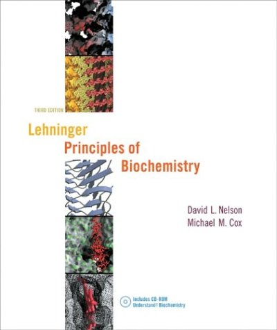 Lehninger Principles of Biochemistry and UNDERSTAND! Biochemistry CD-ROM  3rd 2000 edition cover