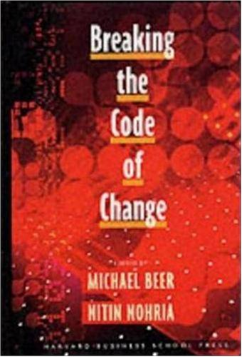 Breaking the Code of Change   2000 edition cover