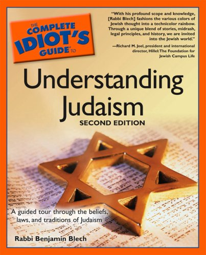 Complete Idiot's Guide to Understanding Judaism  2nd 2003 (Revised) edition cover
