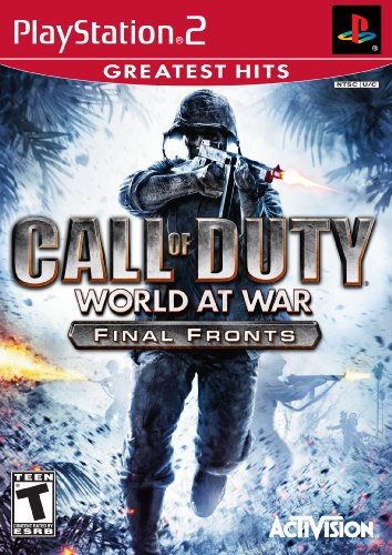 Call of Duty: World at War Greatest Hits Final Fronts - PlayStation 2 PlayStation2 artwork