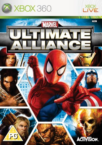 Marvel Ultimate Alliance (Xbox 360) Xbox 360 artwork