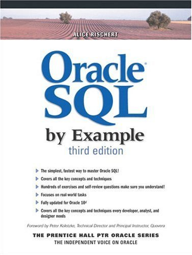Oracle SQL by Example  3rd 2004 (Revised) 9780131451315 Front Cover