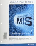 Essentials of MIS, Student Value Edition  11th 2015 edition cover