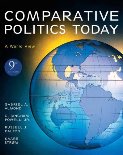 Comparative Politics Today A World View 9th 2008 edition cover
