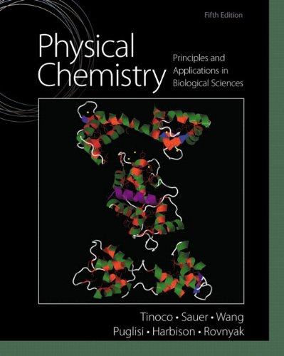 Physical Chemistry Principles and Applications in Biological Sciences 5th 2014 edition cover