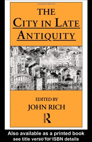 City in Late Antiquity   1996 edition cover