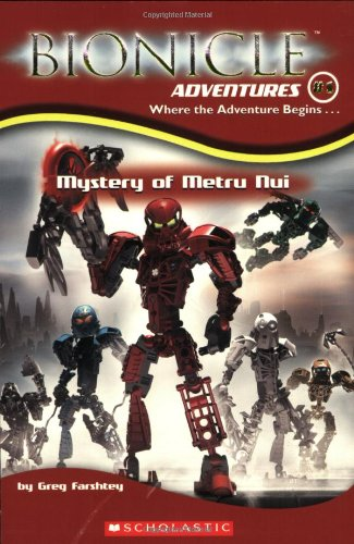 Mystery of Metru Nui   2003 edition cover