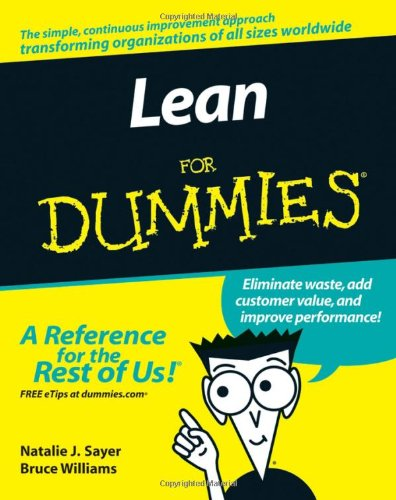 Lean for Dummies   2007 9780470099315 Front Cover