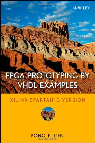 FPGA Prototyping by VHDL Examples Xilinx Spartan-3 Version  2008 edition cover