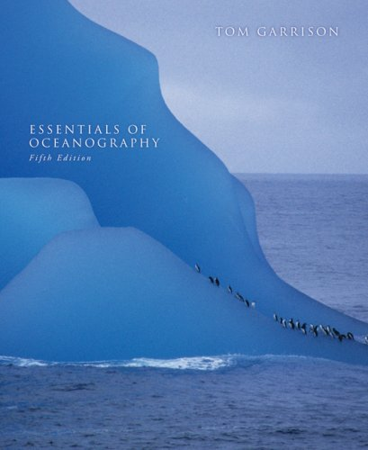 Essentials of Oceanography  5th 2009 edition cover