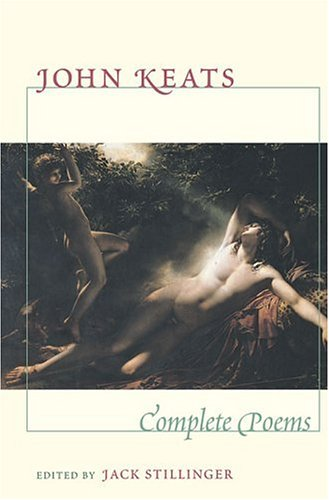 John Keats Complete Poems  1982 edition cover