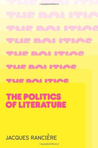 Politics of Literature   2011 edition cover