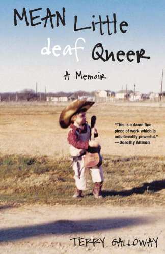 Mean Little Deaf Queer A Memoir  2010 9780807073315 Front Cover