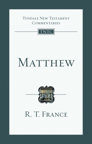 Matthew An Introduction and Commentary  2008 edition cover