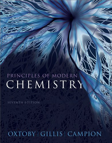 Principles of Modern Chemistry  7th 2012 edition cover