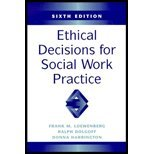 Ethical Decisions for Social Work Practices  6th 2000 edition cover