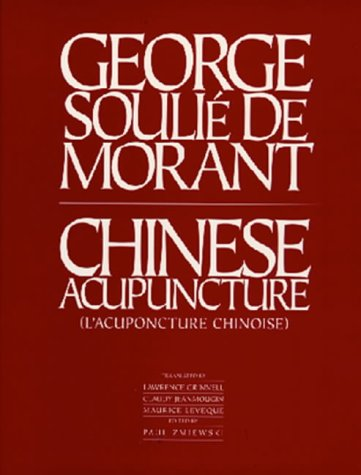 Chinese Acupuncture   1994 edition cover