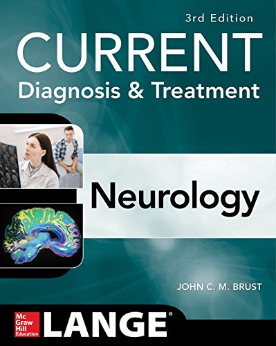 Current Diagnosis & Treatment Neurology:   2019 9781259835315 Front Cover