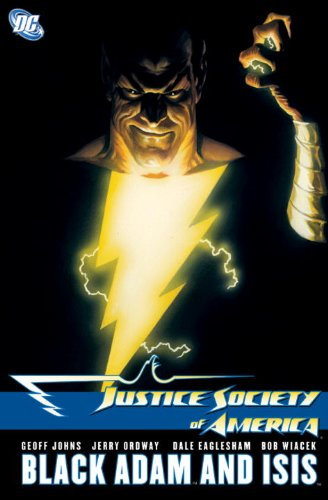 Justice Society of America - Black Adam and Isis   2009 9781401225315 Front Cover