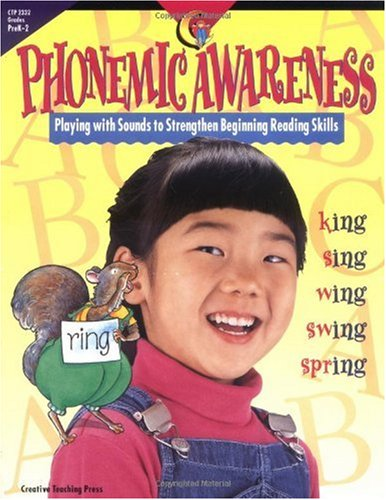 Phonemic Awareness Playing with Sounds to Strengthen Beginning Reading Skills Teachers Edition, Instructors Manual, etc.  edition cover