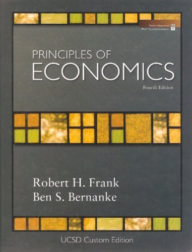 Principles of Economics  4th edition cover