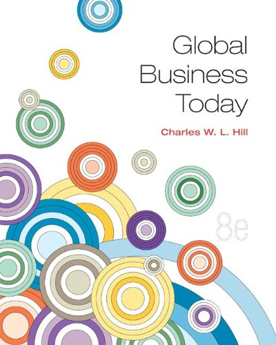 Global Business Today:   2013 edition cover
