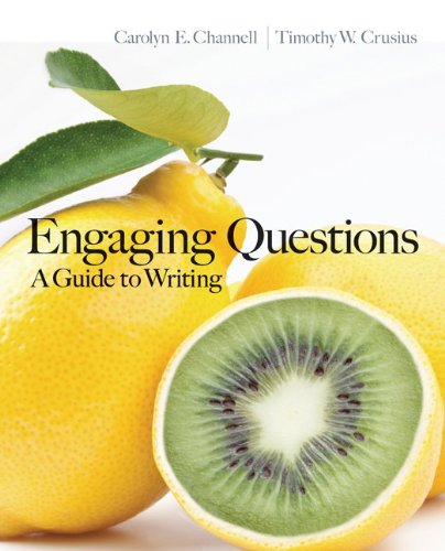 Engaging Questions A Guide to Writing  2013 edition cover
