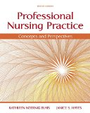 Professional Nursing Practice: Concepts and Perspectives  2015 edition cover