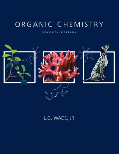 Organic Chemistry  7th 2010 edition cover