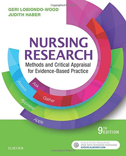 Nursing Research Methods and Critical Appraisal for Evidence-Based Practice 9th 2018 9780323431316 Front Cover