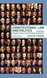 Constitutional Law and Politics Struggles for Power and Governmental Accountability 10th 2017 9780393603316 Front Cover