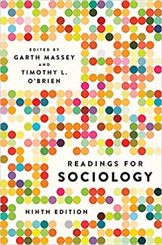 Readings for Sociology:   2019 9780393674316 Front Cover
