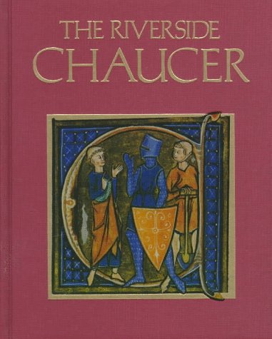 Riverside Chaucer  3rd 1987 edition cover