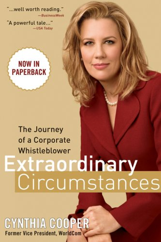Extraordinary Circumstances The Journey of a Corporate Whistleblower  2007 edition cover