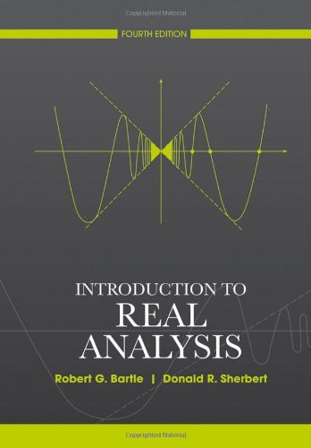 Introduction to Real Analysis  4th 2011 edition cover