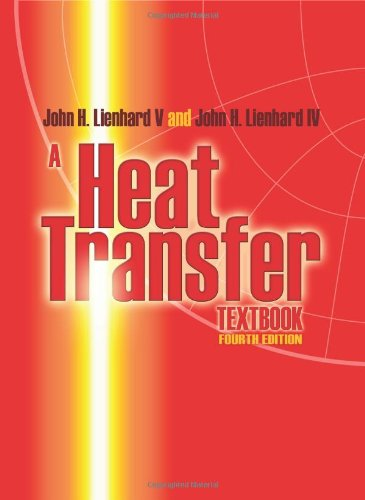 Heat Transfer  4th 2011 edition cover
