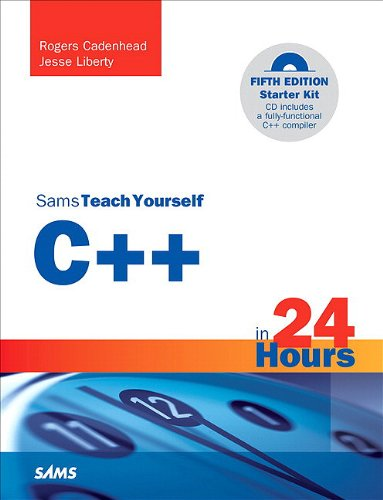 Sams Teach Yourself C++ in 24 Hours  5th 2011 (Revised) edition cover