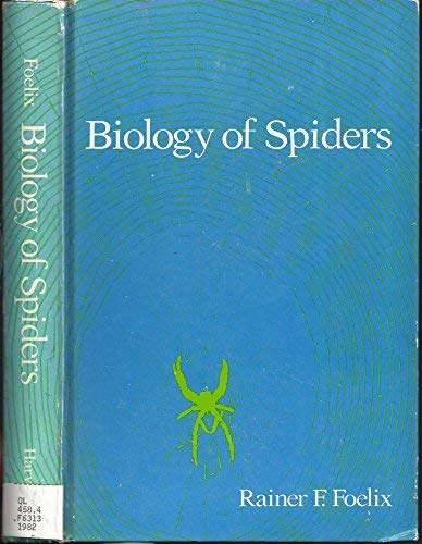 Biology of Spiders   1982 9780674074316 Front Cover