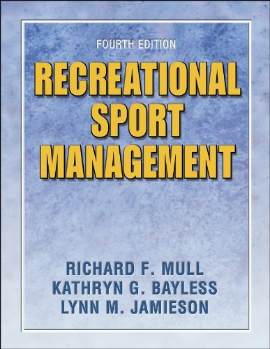 Recreational Sport Management  4th 2005 (Revised) edition cover