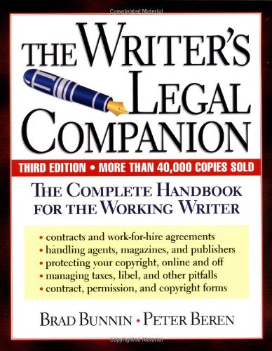 Writer's Legal Companion The Complete Handbook for the Working Writer 3rd (Revised) edition cover
